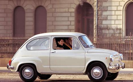 O meu primeiro carro, o FIAT 600 D