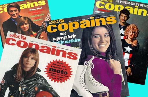 "E quem se lembra da revista francesa "" Salut les Copains""?"